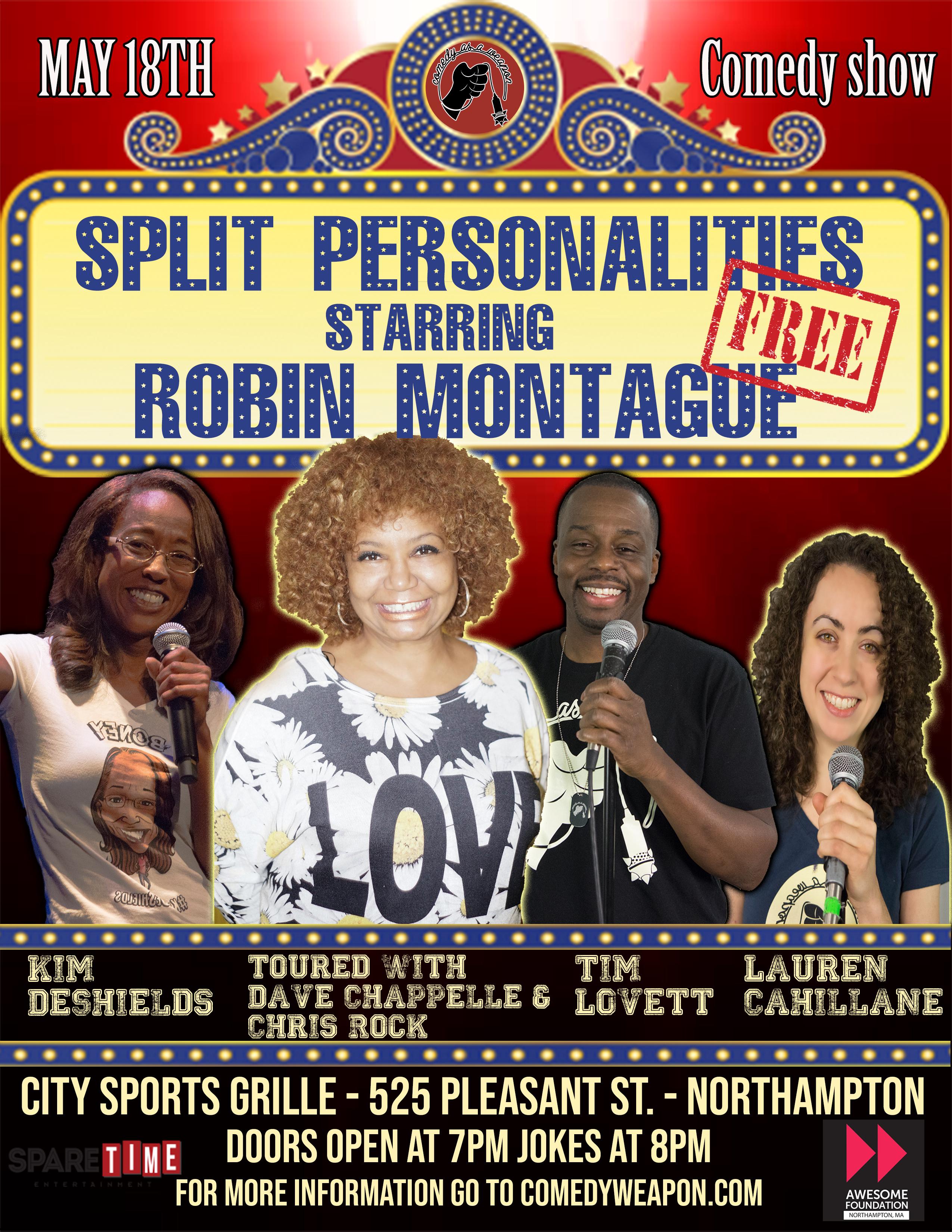 Split Personalities Robin Montague